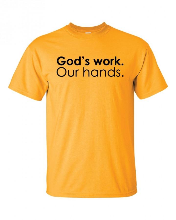 GODS HANDS tshirt